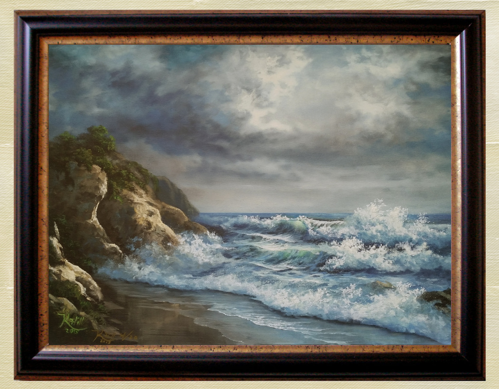 Giclee prints seascape painting artist